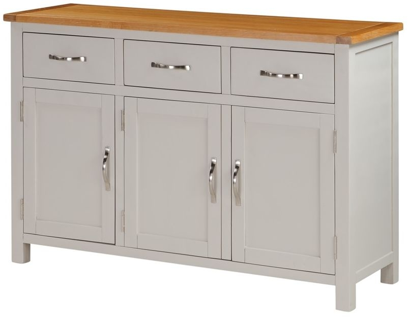 Hartford Wide Sideboard - Oak and Painted