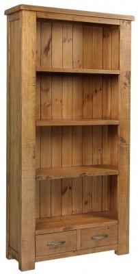 Henley Pine Bookcase - High