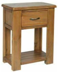 Henley Pine Console Table 1 Drawer - Small