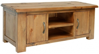 Henley Pine TV Unit - Large