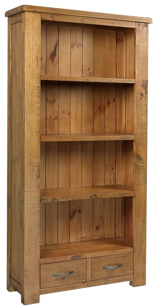 Henley Pine Bookcase - High