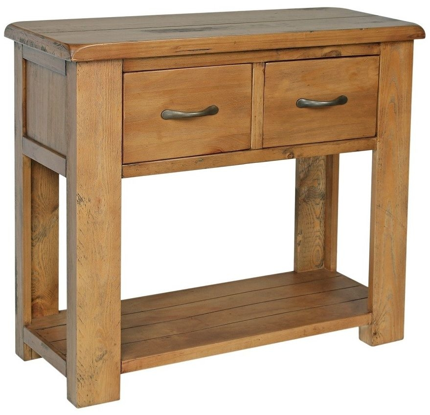 Henley Pine Console Table- Large