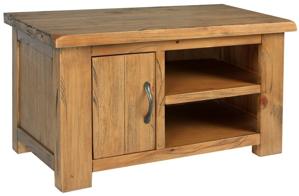 Henley Pine TV Unit - Small