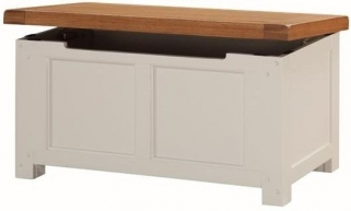 Heritage Stone Painted Blanket Box
