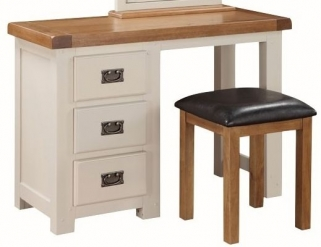 Heritage Stone Painted Dressing Table and Stool