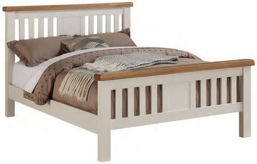 Heritage Stone Painted Bed