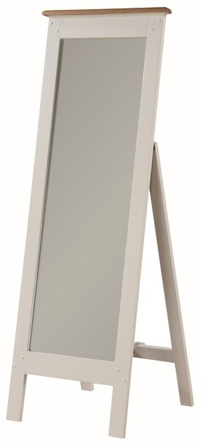 Heritage Stone Painted Cheval Mirror