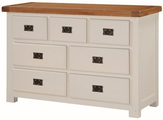 Heritage Stone Painted 3 Over 4 Chest of Drawer