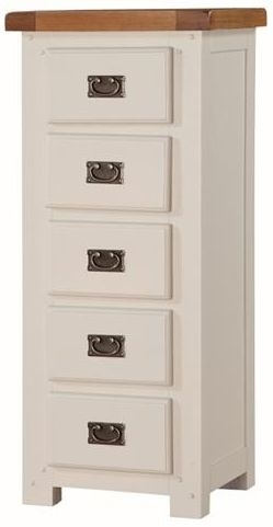 Heritage Stone Painted 5 Drawer Chest