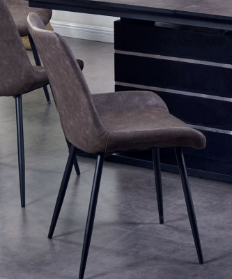 Imperia Brown Dining Chair (Pair)