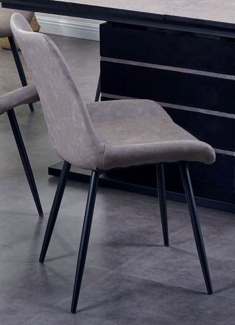 Imperia Light Grey Dining Chair (Pair)