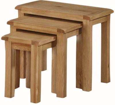 Kilmore Oak Nest of Tables