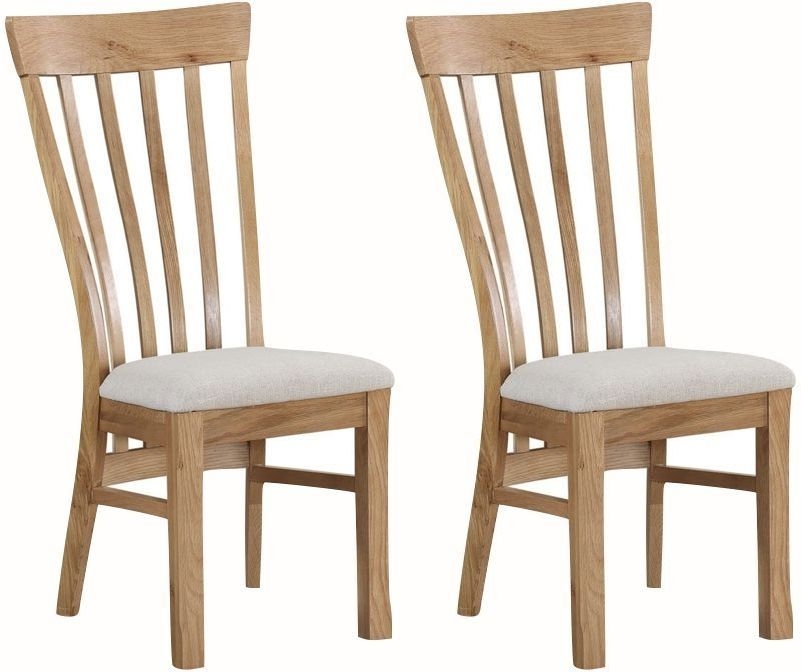 Kilmore Oak Dining Chair (Pair)