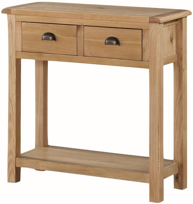 Kilmore Oak Large Console Table