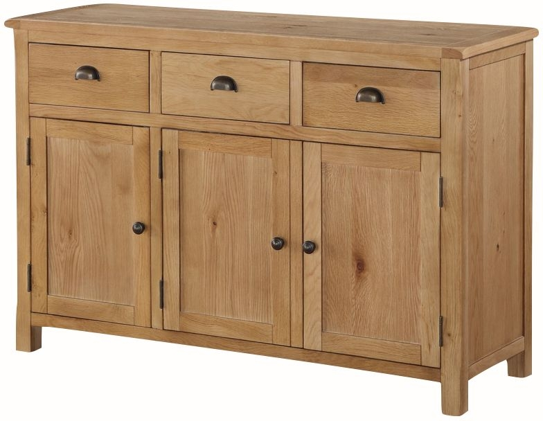 Kilmore Oak Large Sideboard