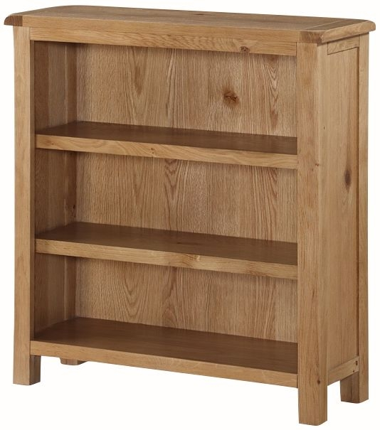 Kilmore Oak Low Bookcase