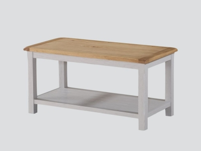 Kilmore Coffee Table - Oak and Grey Painted