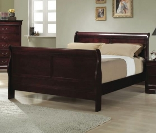 Louis Philippe Cherry Bed