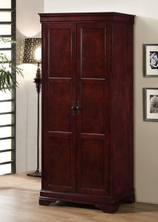 Louis Phillipe Wardrobe - Cherry