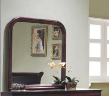 Louis Philippe Cherry Mirror