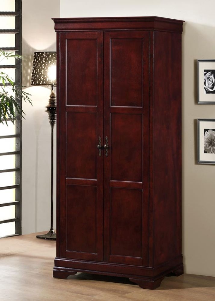 Louis Phillipe Cherry Wardrobe