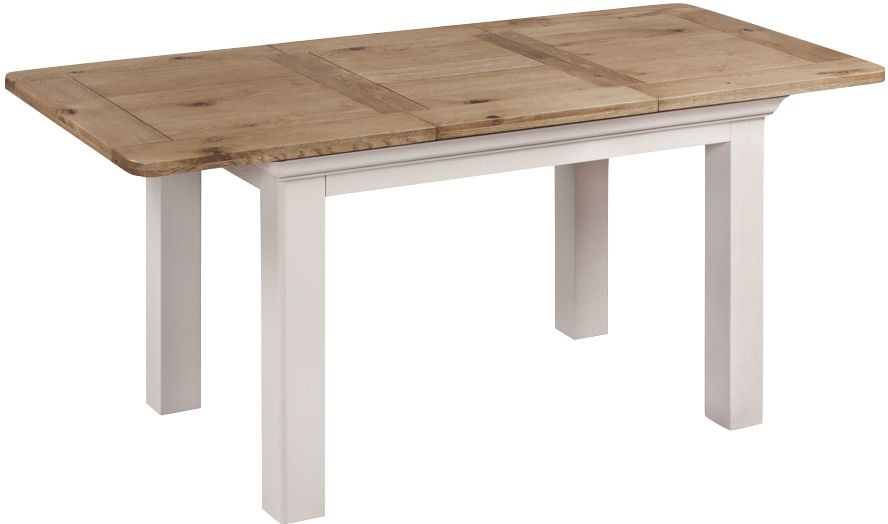 Lyon Butterfly Extending Dining Table - Oak and Painted