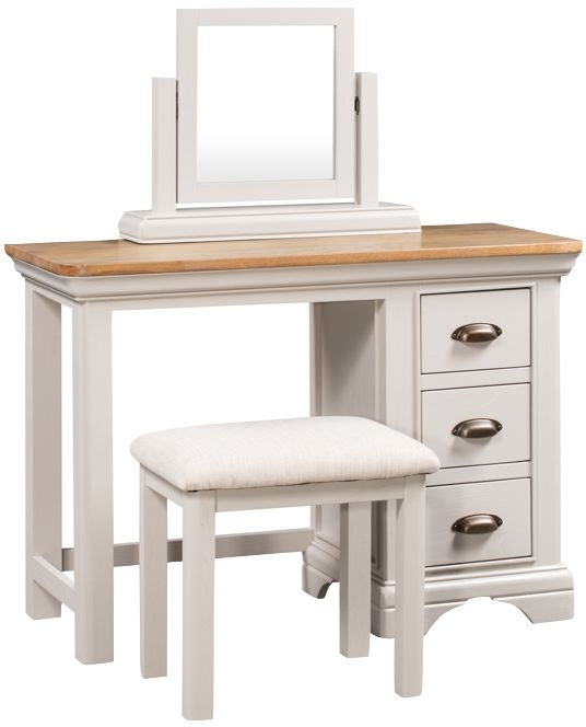Lyon Dressing Set - Oak and Painted