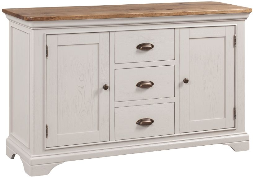Lyon Large Sideboard - Oak and Painted