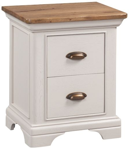 Lyon Nightstand - Oak and Painted