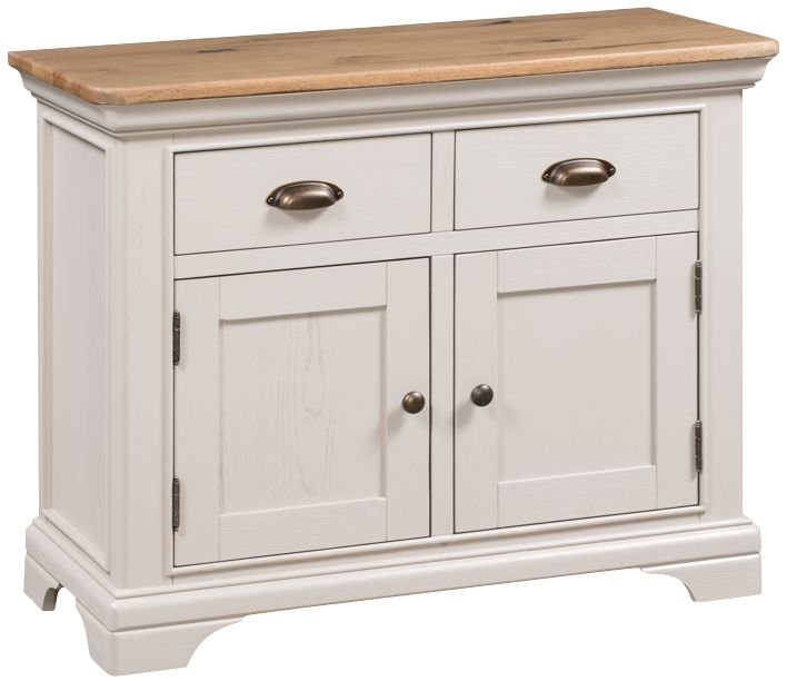 Lyon Small Sideboard - Oak and Painted