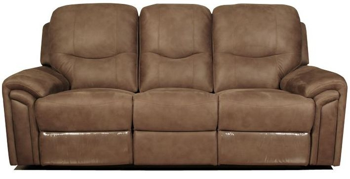 Lytham Brown Sofa - 3 Seater