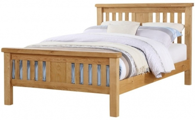 Newbridge Oak High Footend Bed