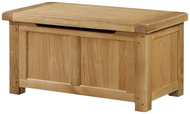Newbridge Oak Blanket Box