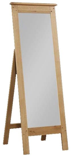 Newbridge Oak Cheval Mirror