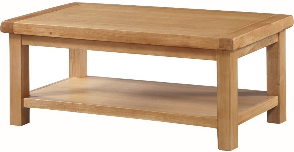 Newbridge Oak Large Coffee Table