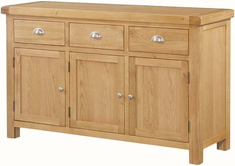 Newbridge Oak Large Sideboard