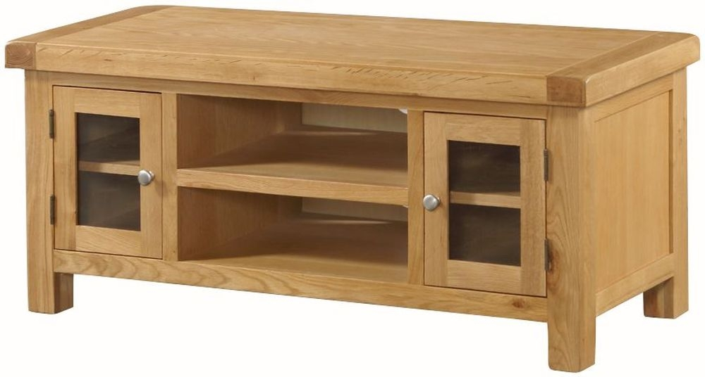 Newbridge Oak Large TV Unit