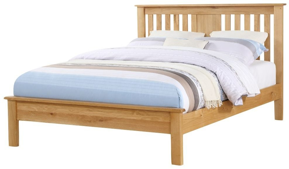 Newbridge Oak Low Footend Bed