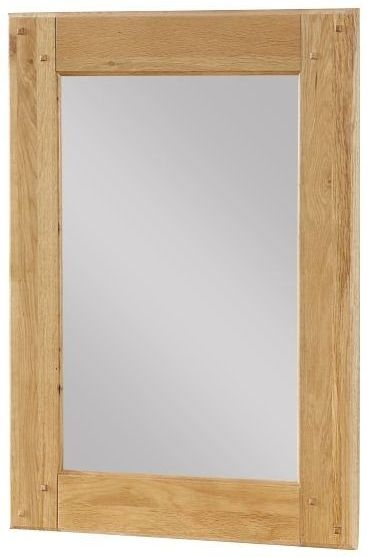 Newbridge Oak Wall Mirror - 60cm x 80cm