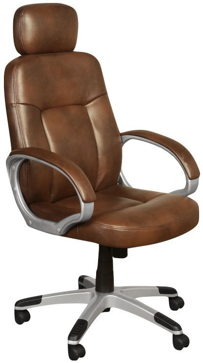 Viking Tan Faux Leather Office Chair