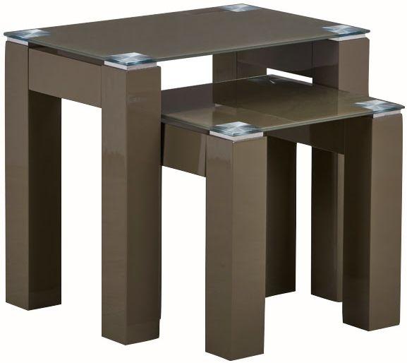 Ravello Mocha Nest of 2 Tables
