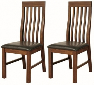 Roscrea Slatted Back Dining Chair (Pair)