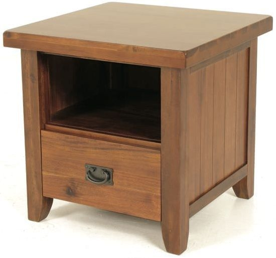 Roscrea 1 Drawer Lamp Table
