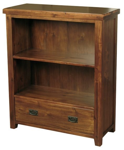 Roscrea 1 Drawer Low Bookcase