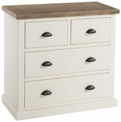 Santorini Stone Painted 2+2 Drawer Chest