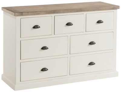 Santorini Stone Painted 3+4 Drawer Chest