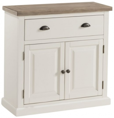 Santorini Stone Painted Compact Sideboard