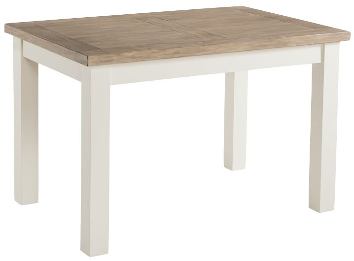 Santorini Stone Painted Dining Table