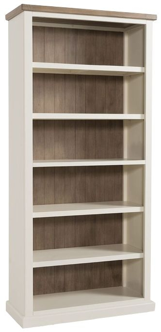 Santorini Painted Bookcase - Large
