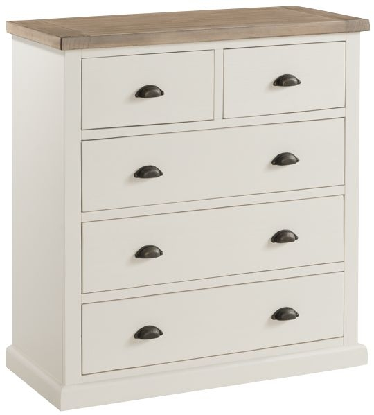 Santorini Stone Painted 3+2 Drawer Chest